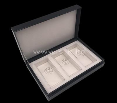lucite jewelry storage case