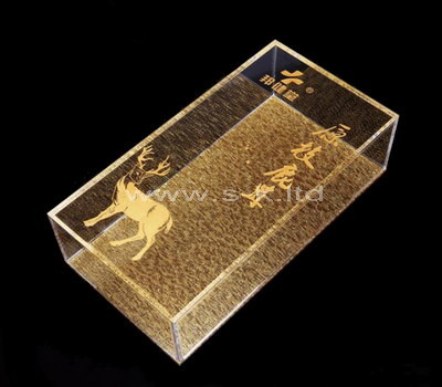 clear plexiglass display boxes