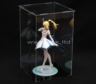 clear acrylic boxes for display