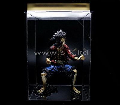 clear acrylic showcase