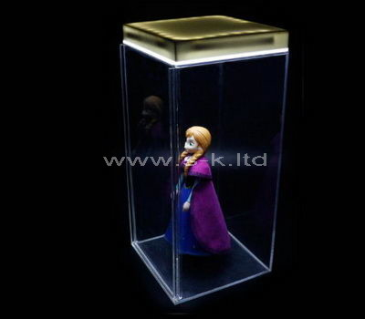 plastic showcase box