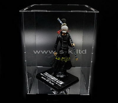 large plastic display case