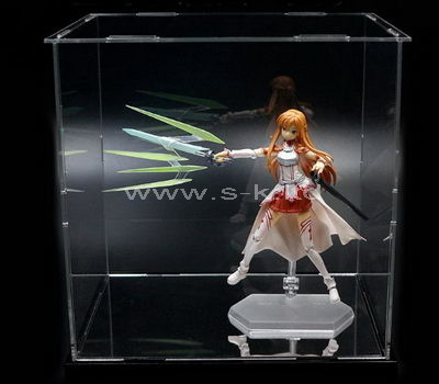 clear large plexiglass display cases