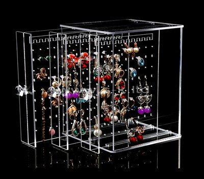 acrylic large jewelry display case