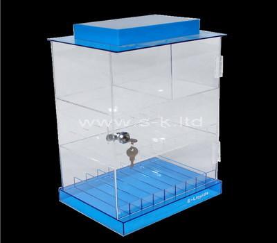 plexiglass store display cabinet