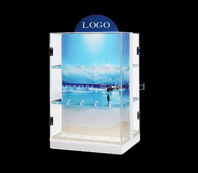 plexiglass display showcase cabinet