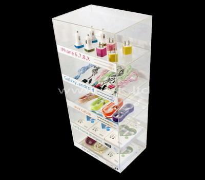 lucite display cabinet storage
