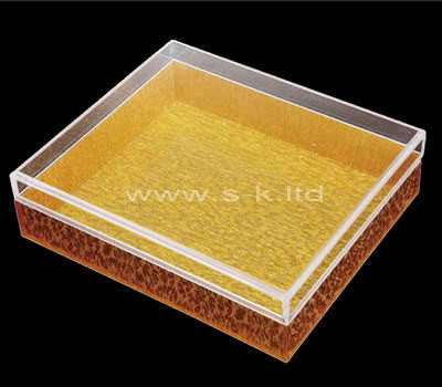 plexiglass gift box