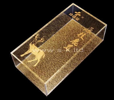 plexiglass storage box