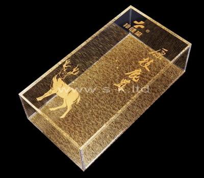 plexiglass storage box