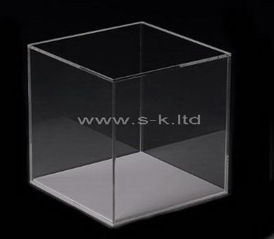 clear plexiglass storage box