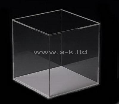 clear plexiglass storage box