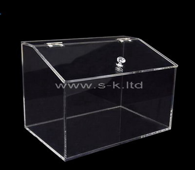 lucite big box with lid