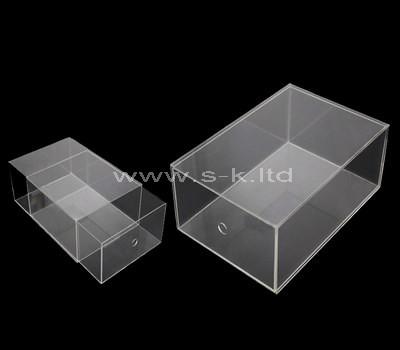 acrylic single drawer box