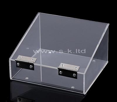 plexiglass large box with lid