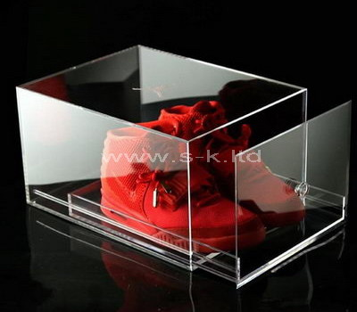 transparent shoe box for sale