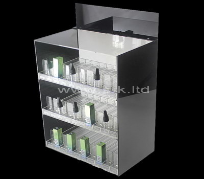 lucite short display cabinet