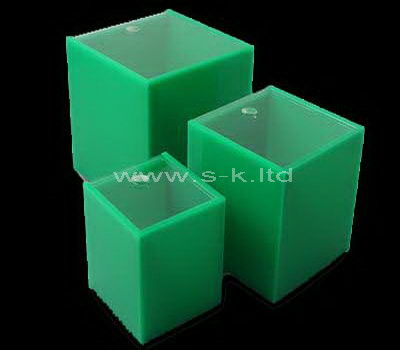 square storage box with lid