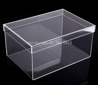 acrylic large shoe box storage