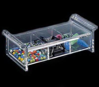 acrylic small compartment box