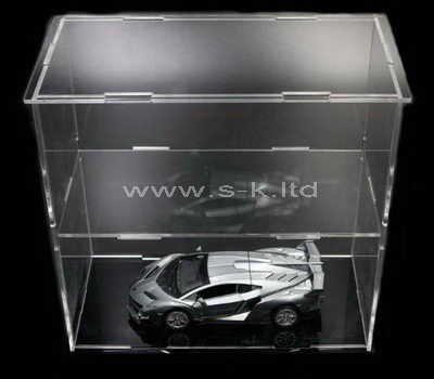 Clear acrylic model cars display case