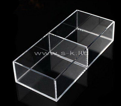 Clear acrylic 2 grids display case