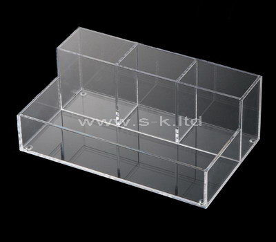 Clear acrylic 4 grids display case