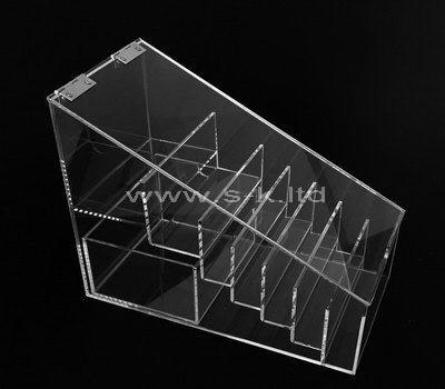 Clear acrylic 7 grids display case