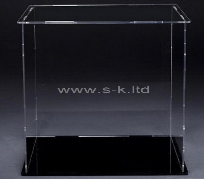 Large narrow acrylic display case