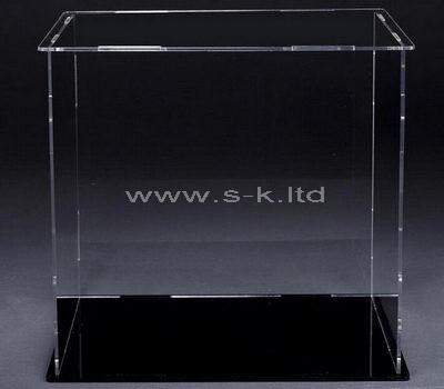 Large narrow acrylic display case