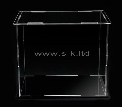 Custom design clear acrylic display case
