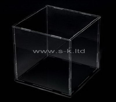 Custom design square clear acrylic display box