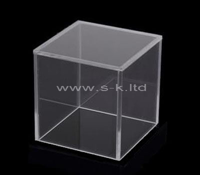 Custom design square clear acrylic box
