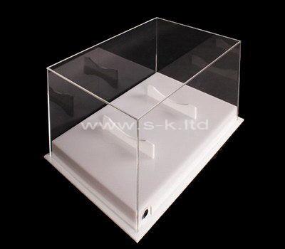 Custom design large clear acrylic display case
