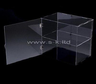 Custom design large clear acrylic display cases