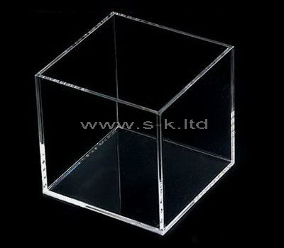 Custom design small square clear acrylic display box
