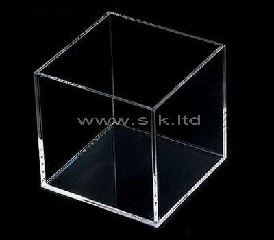 Custom design small square clear acrylic display box
