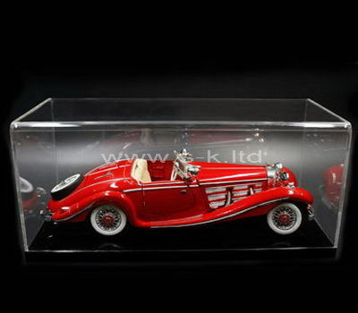 Custom design clear acrylic model car display case