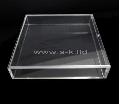 Custom design clear acrylic slipcase