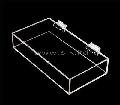 Custom design small clear acrylic box with lid