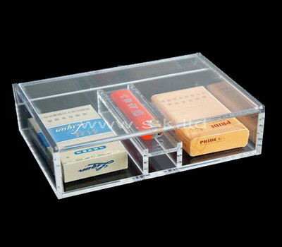 Custom design clear acrylic cigarette box