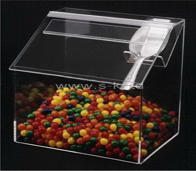 Custom design acrylic candy storage box