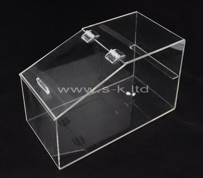 Custom design counter top acrylic display case
