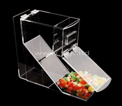 Custom design counter top acrylic candy display box