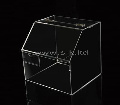Custom design counter top acrylic display cases
