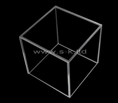 Custom design square clear acrylic display case