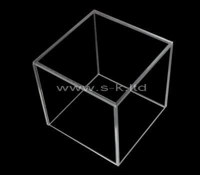 Custom design square clear acrylic display case