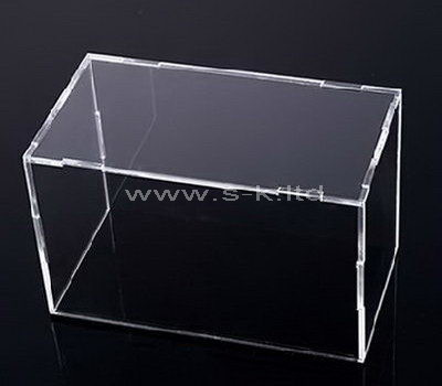 Custom design 5 sided clear acrylic display case
