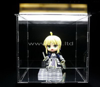 Custom design clear acrylic dull display case