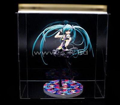 Custom design clear acrylic figure display box
